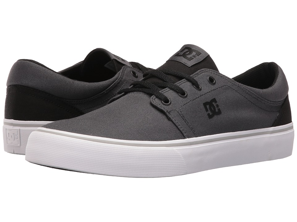 DC - Trase TX (Charcoal/Black) Skate Shoes