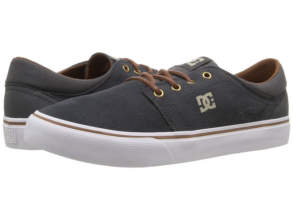 DC - Trase SD (Charcoal Grey) Skate Shoes