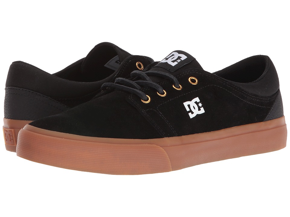 DC - Trase SD (Black/Gum) Skate Shoes