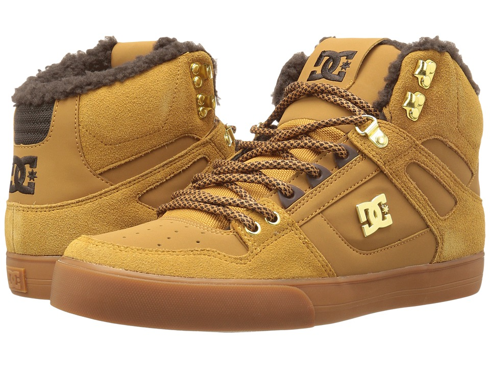 DC - Spartan High WC WNT (Wheat/Dark Chocolate) Men's Shoes