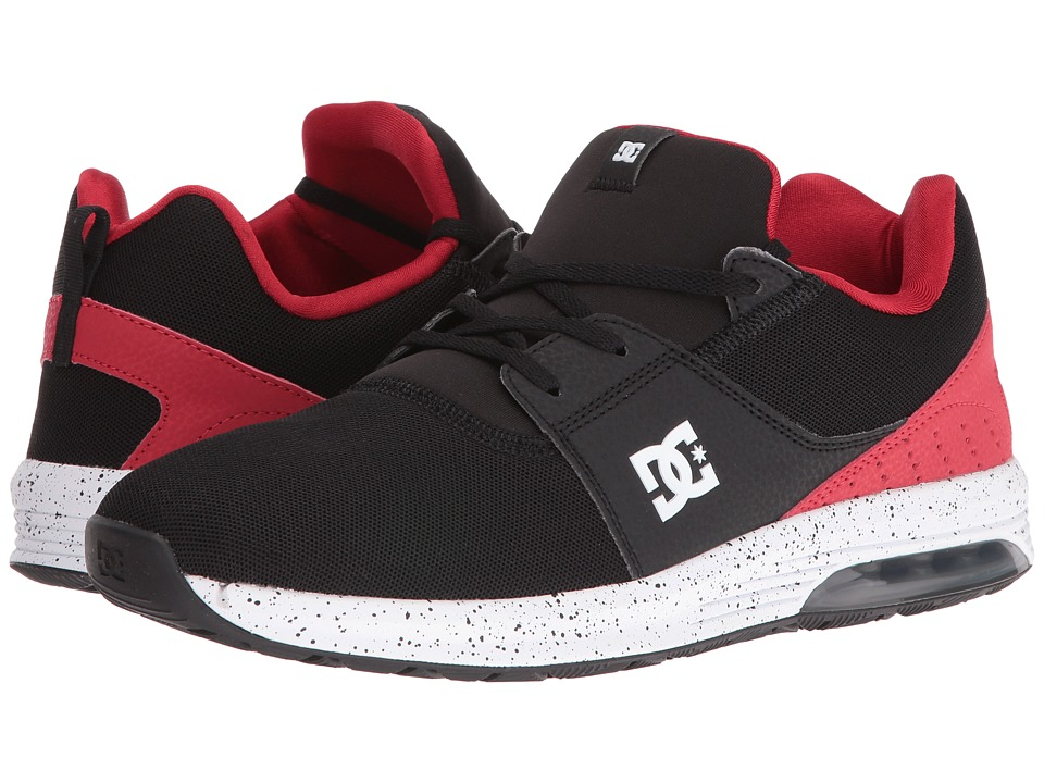 DC - Heathrow IA (Black/Red) Men's Skate Shoes