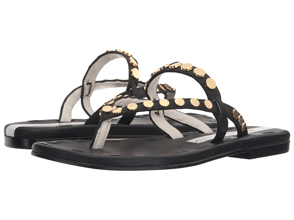 Matt Bernson - Love Disc (Black/Gold) Women's Sandals