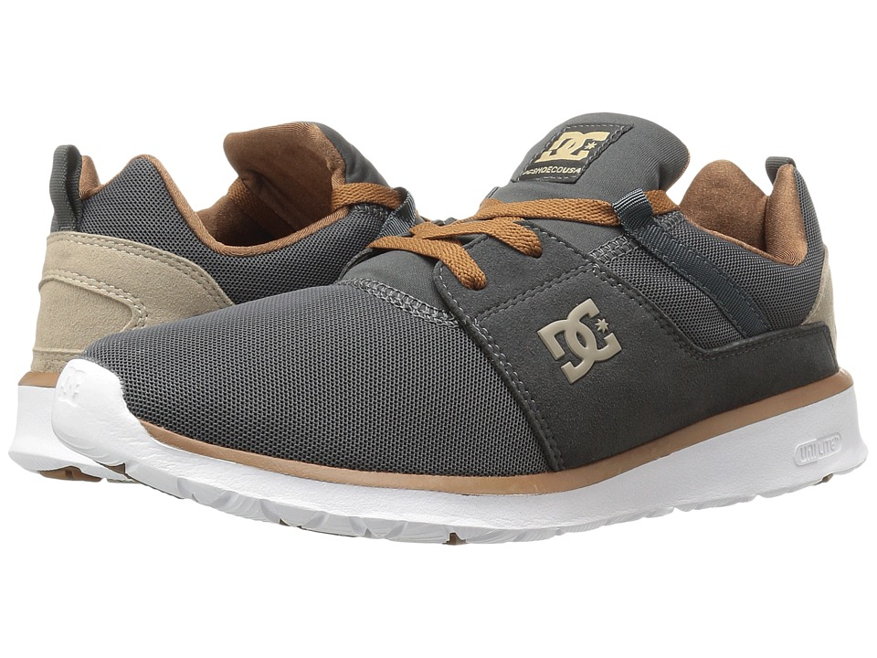 DC - Heathrow (Charcoal Grey) Skate Shoes