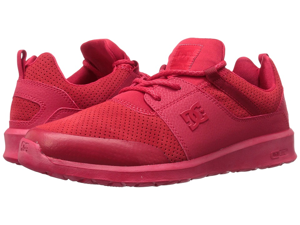 DC Heathrow Prestige (Red/Red/Red) Skate Shoes