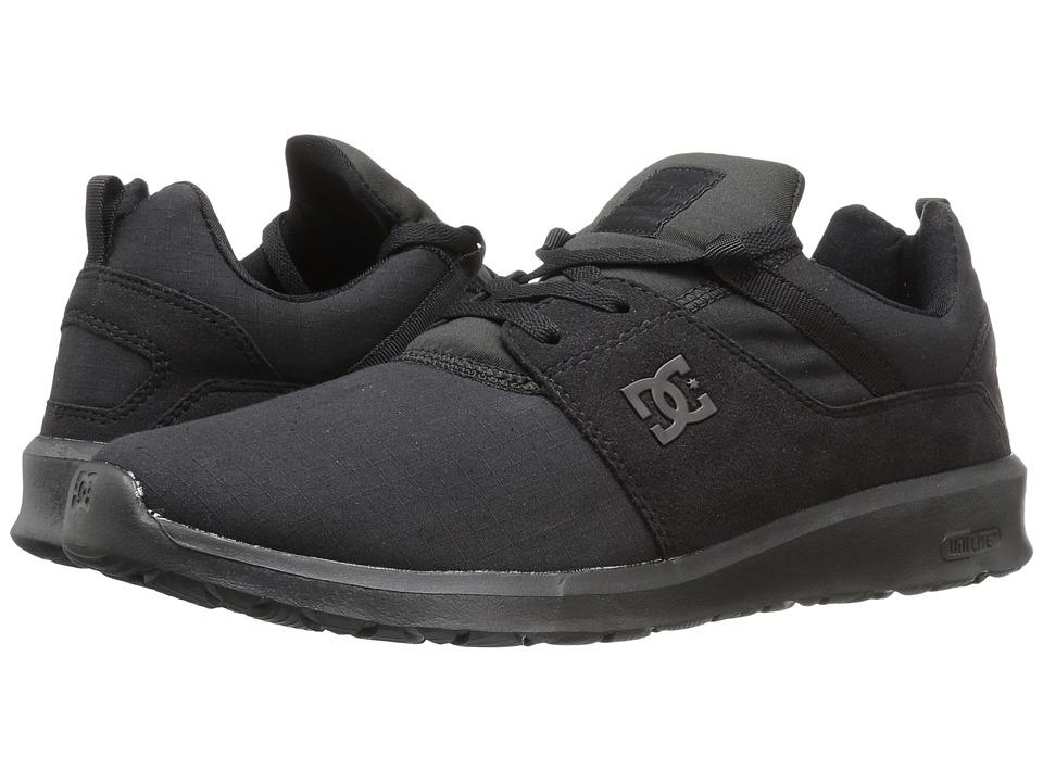DC - Heathrow SE (Black/Black/Black) Skate Shoes