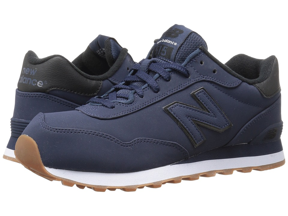 New Balance Classics ML515 (Navy/Black Synthetic) Men