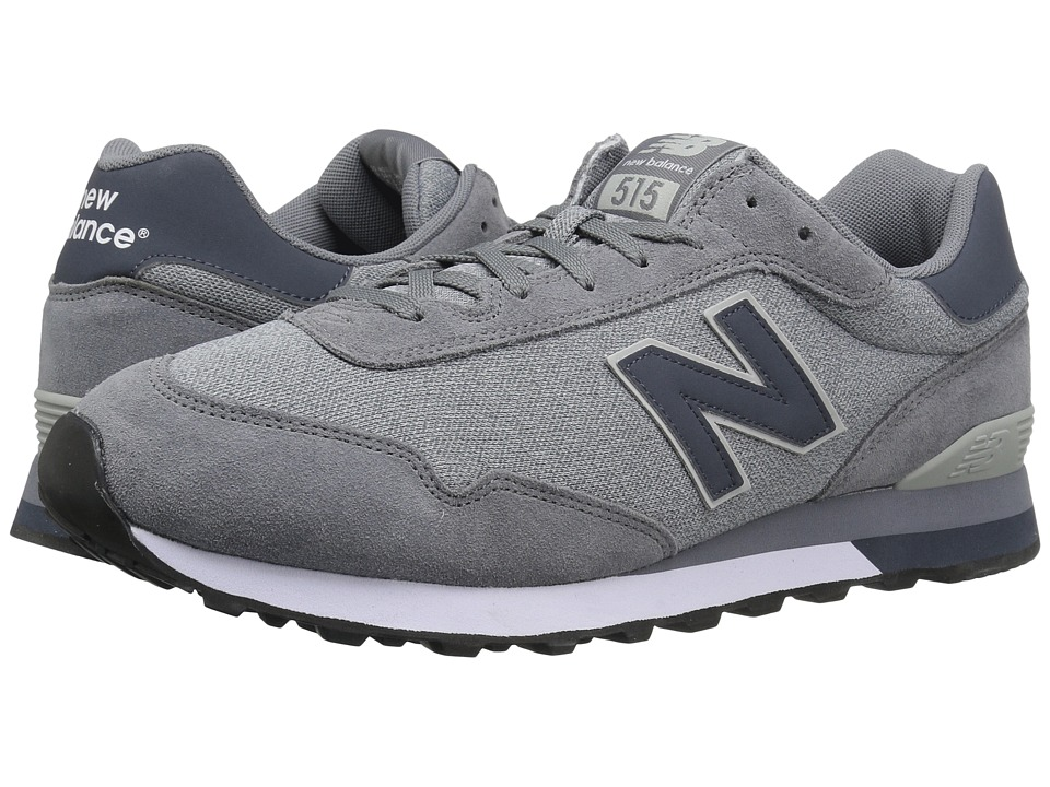 New Balance Classics ML515 (Gunmetal Suede/Mesh) Men