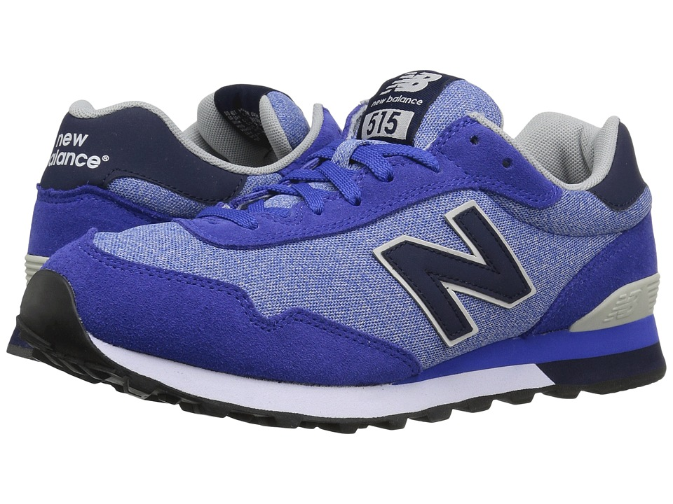 New Balance Classics - ML515 (Blue/Grey Suede/Mesh) Men's Classic Shoes