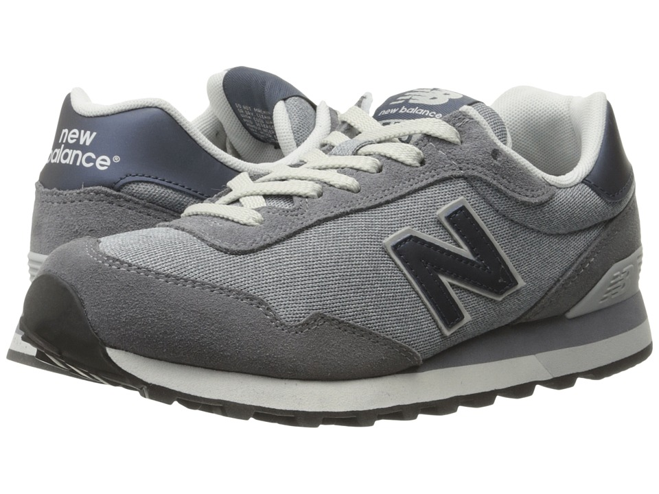 New Balance Classics - WL515 (Grey Suede/Mesh) Women's Classic Shoes