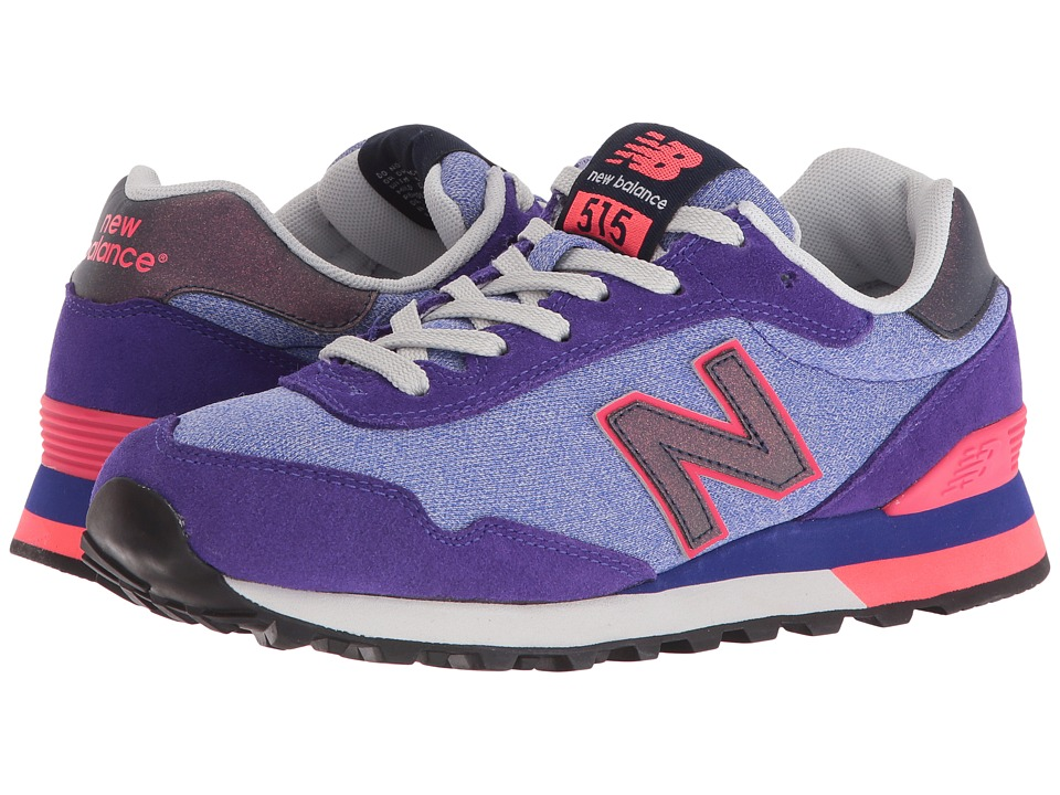 New Balance Classics - WL515 (Spectral/Bright Cherry Suede/Mesh) Women's Classic Shoes