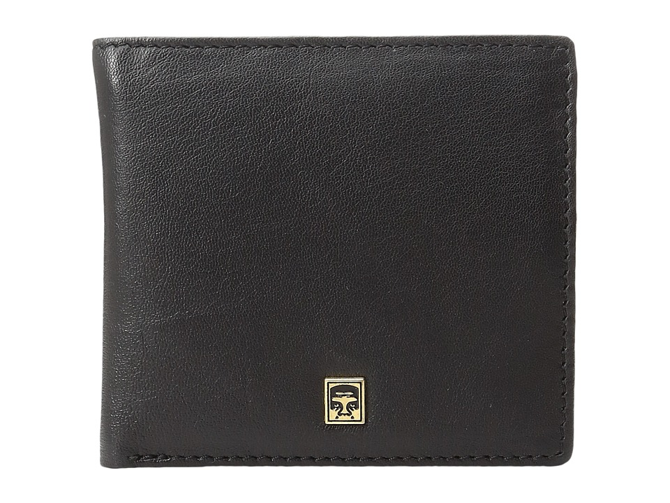 Obey - Vandal Bi-Fold Wallet (Black) Wallet Handbags