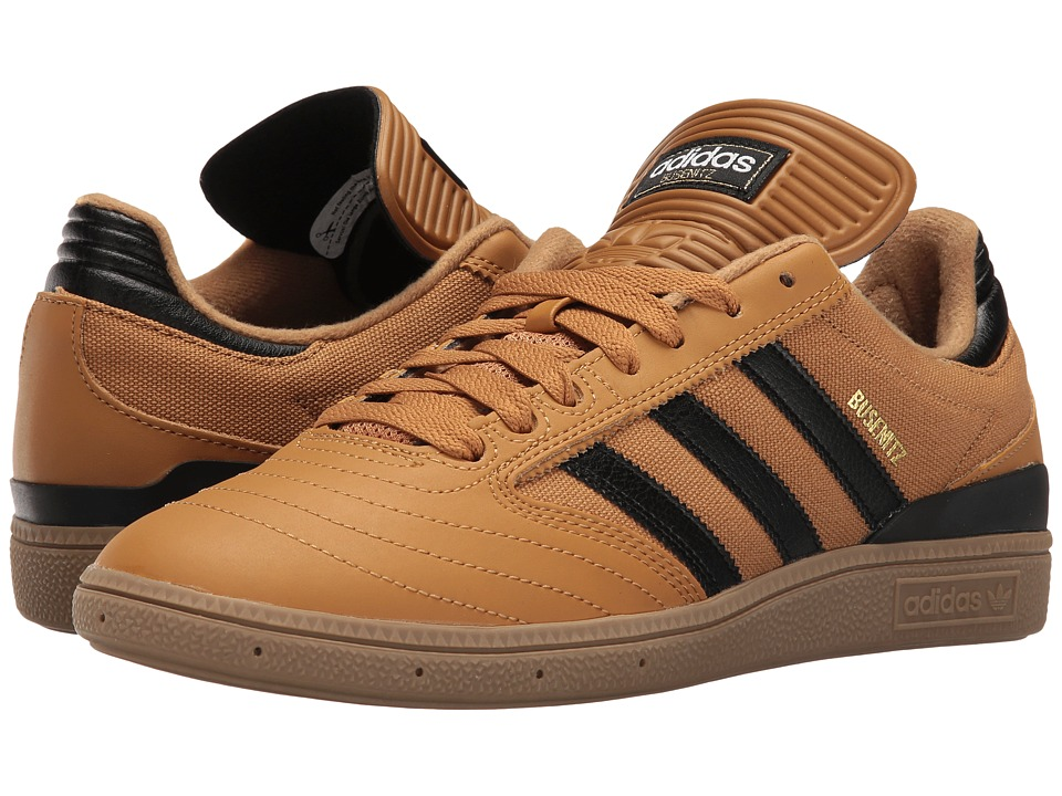adidas Skateboarding - Busenitz Pro (Mesa/Black/Gum) Men's Skate Shoes