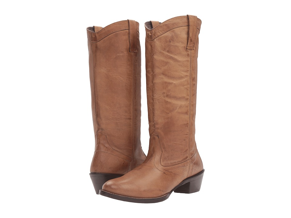 Roper Reba (Taupe Burnished Leather) Cowboy Boots