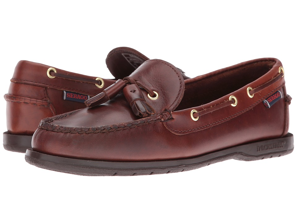 Sebago - Caspian (Brown Oiled Waxy) Women's Shoes
