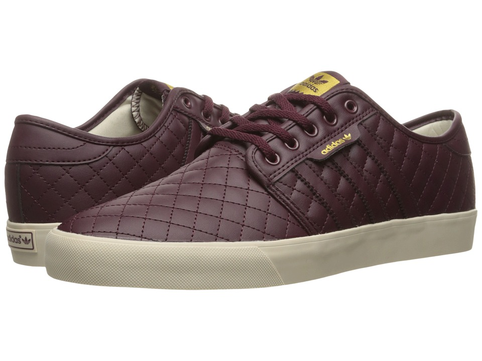 adidas Skateboarding - Seeley (Maroon/Maroon/Clear Brown) Men's Skate Shoes