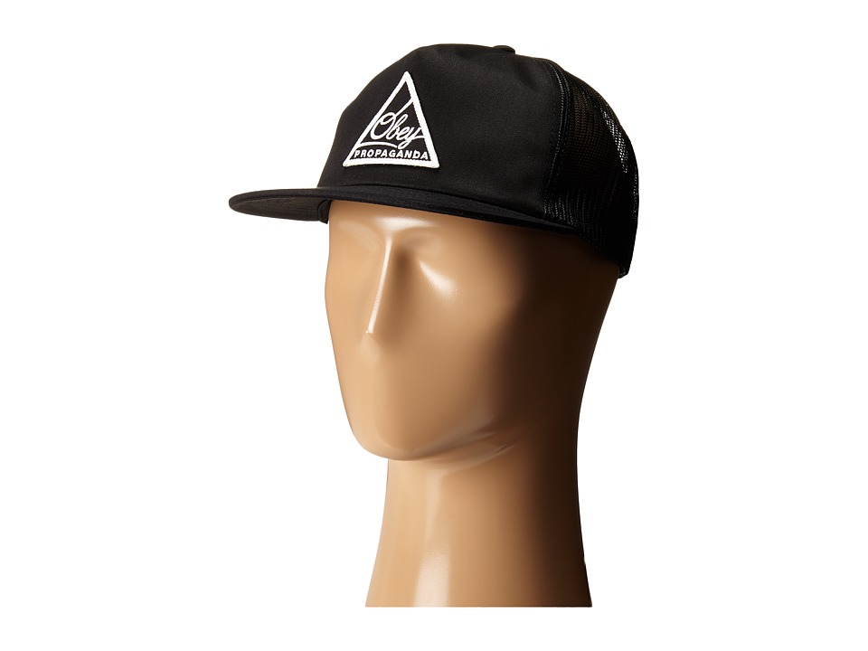Obey - New Federation Trucker Cap (Black) Caps