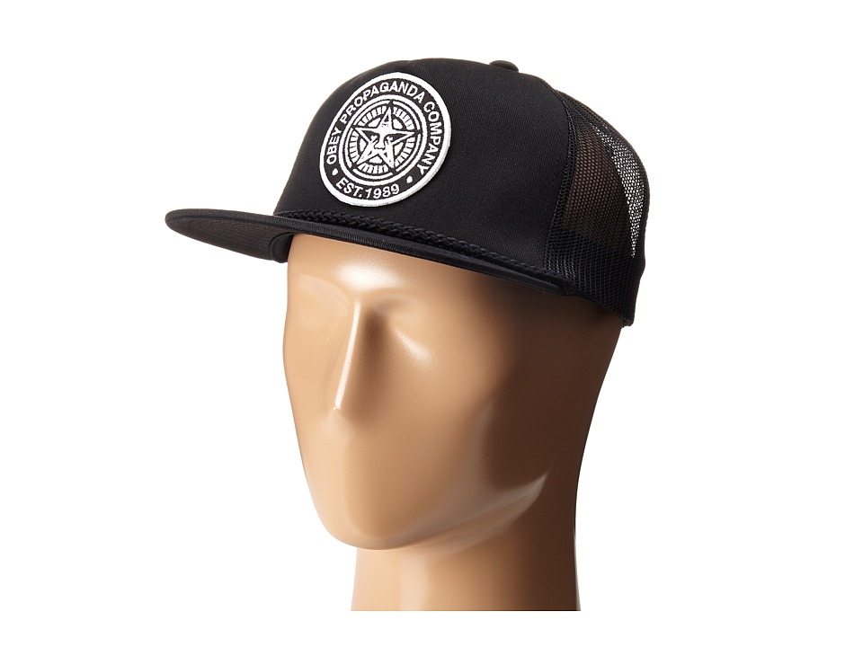 Obey - Giant Trucker (Black) Caps