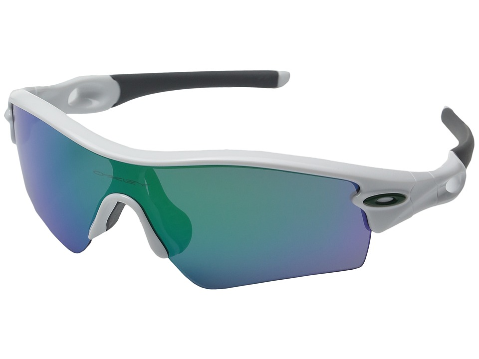 Oakley - Radar Path (Polished White w/ Jade Iridium) Fashion Sunglasses