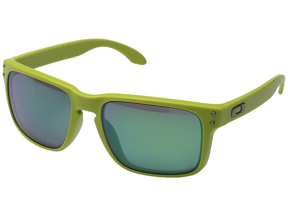 Oakley - Holbrook (Matte Fern w/ Jade Iridium Polarized) Sport Sunglasses