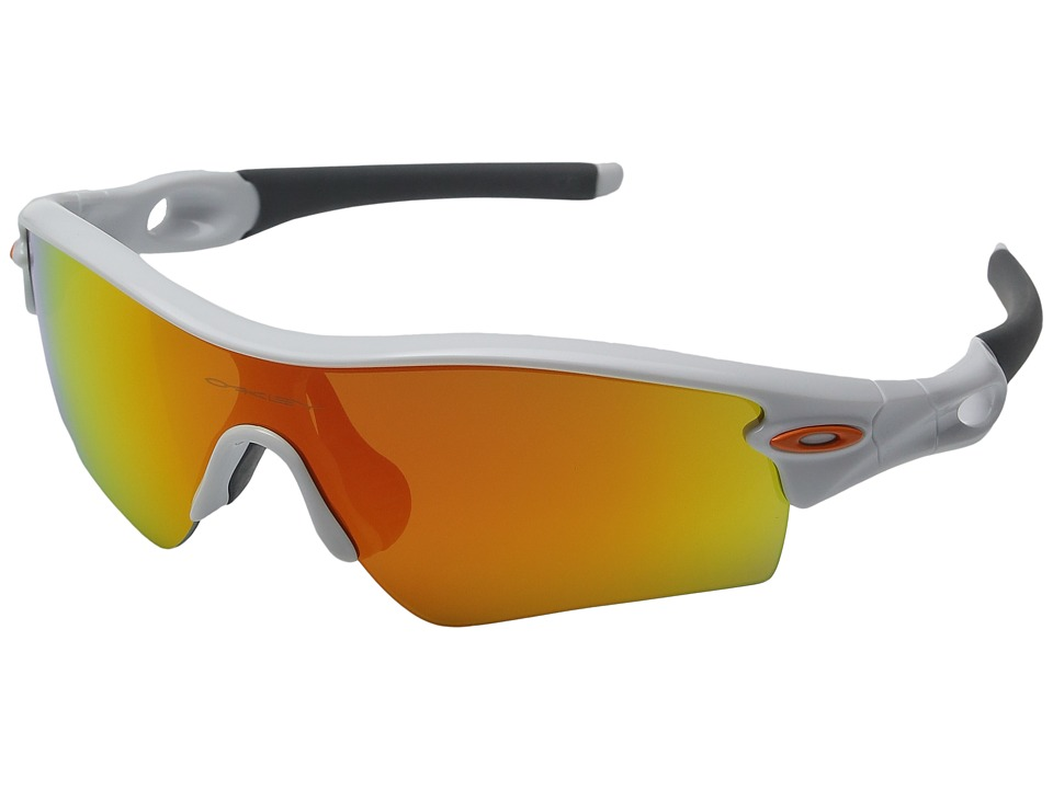Oakley - Radar Path (Polished White w/ Fire Iridium) Fashion Sunglasses