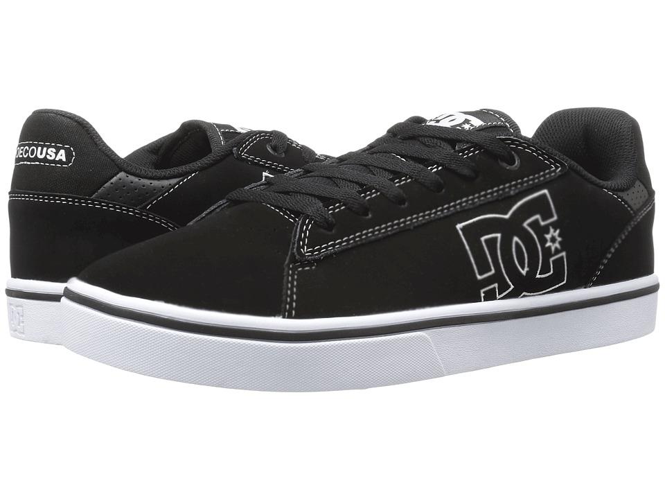 DC - Notch (Black/White) Men's Skate Shoes