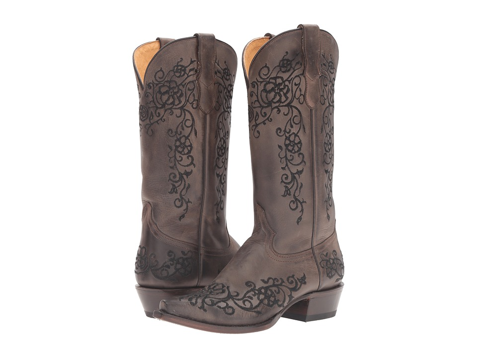 Roper Bouquet (Brown/Black) Cowboy Boots