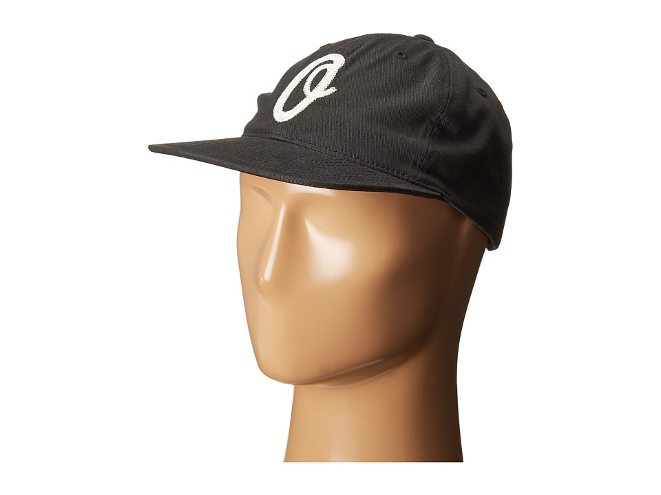 Obey - Bunt 6 Panel Hat (Black) Caps
