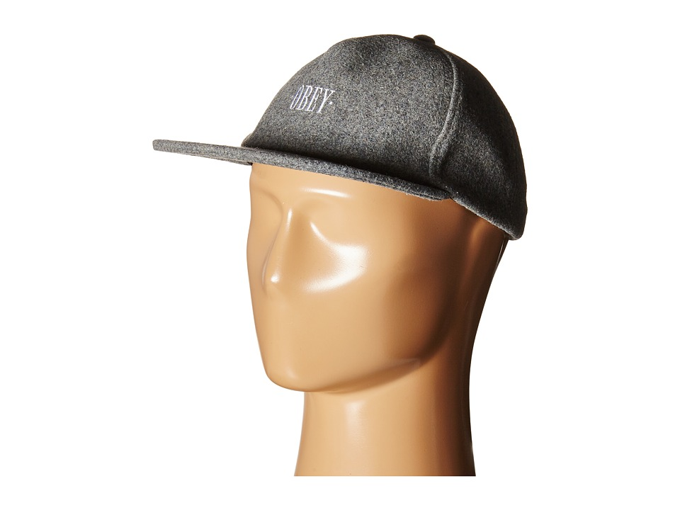 Obey - Southgate Hat (Heather Charcoal) Caps