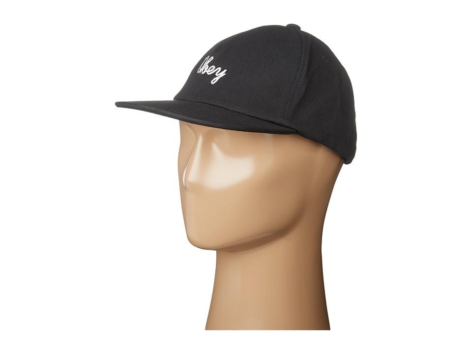 Obey - Stratford Snapback Hat (Black) Caps