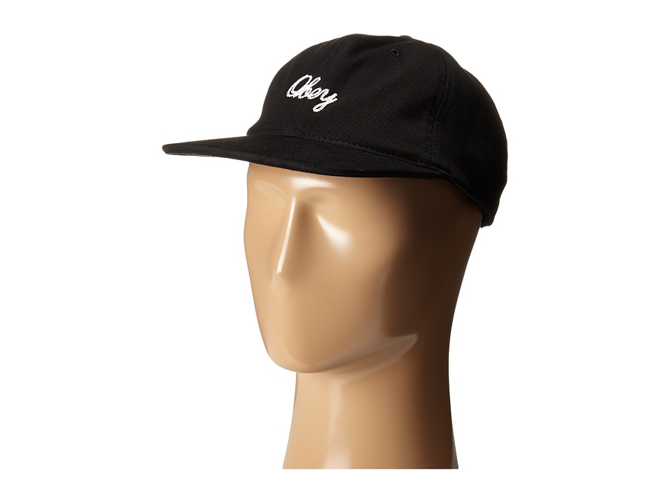 Obey - Stratford 6 Panel Hat (Black) Caps