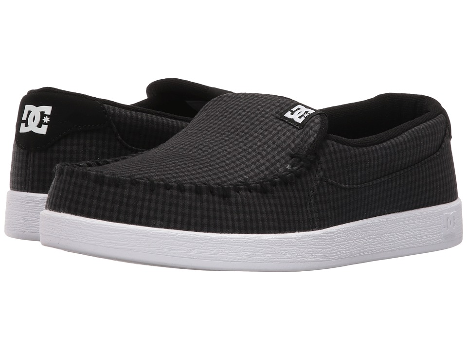 DC - Villain TX (Black Buffalo Plaid) Men's Skate Shoes