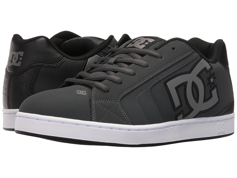 DC - Net (Grey/Grey/Black) Men's Skate Shoes