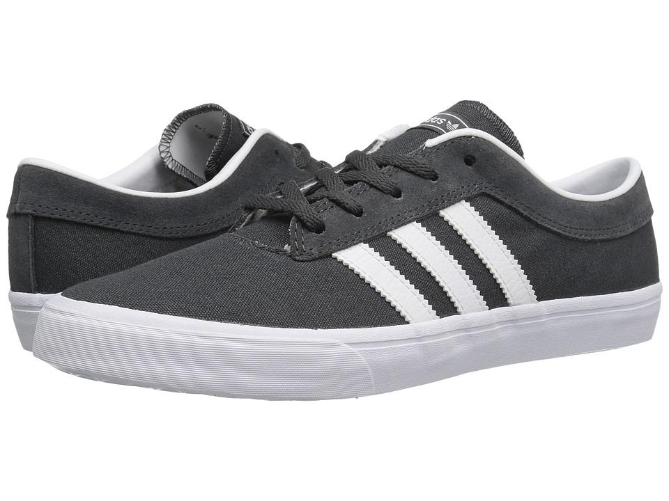 adidas Skateboarding - Sellwood (Dark Grey Heather Solid Grey/White/Dark Grey Heather Solid Grey) Men's Skate Shoes