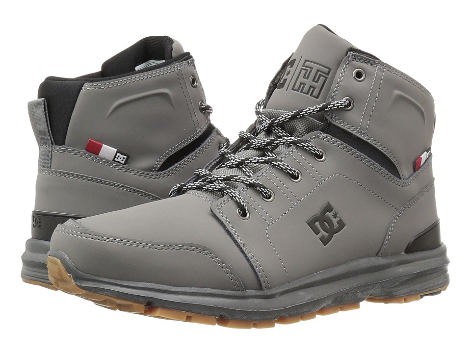 DC - Torstein (Grey/Gum) Men's Skate Shoes