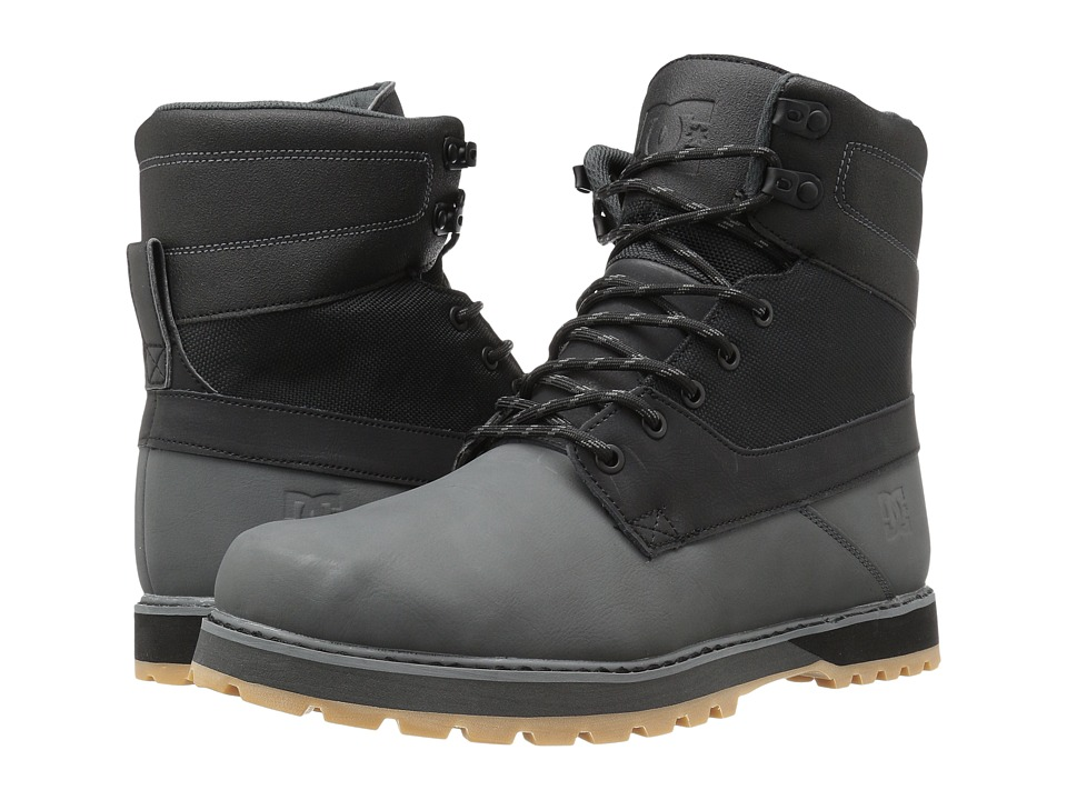 DC Uncas (Black/Battleship/Black) Men