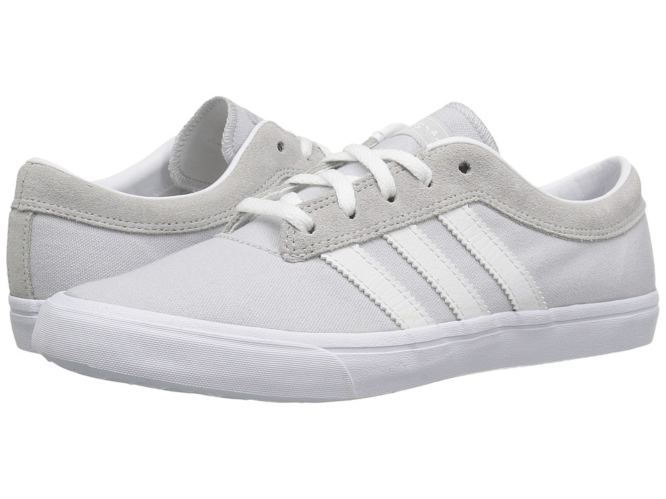 adidas Skateboarding - Sellwood (Light Grey Heather Solid Grey/White/LGH Solid Grey) Women's Skate Shoes