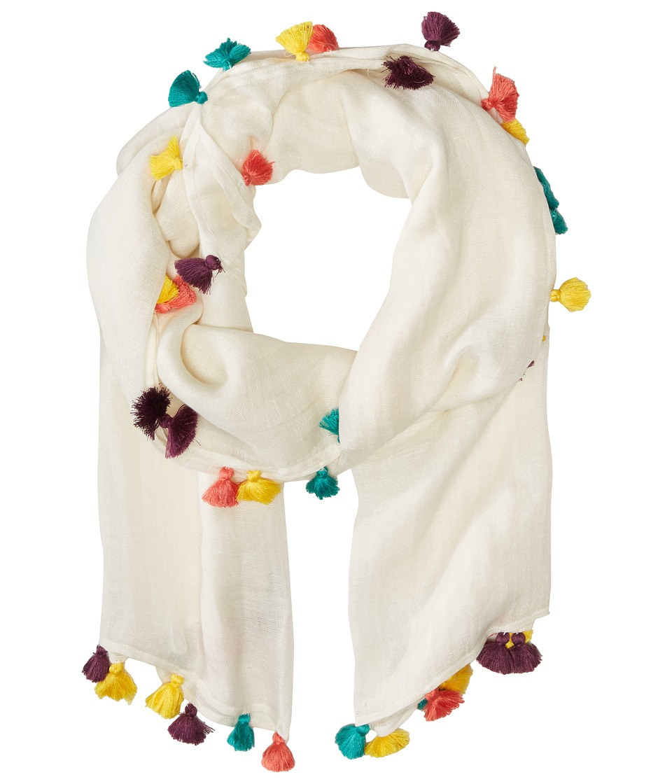 Bindya - Lulla by Bindya Multi Tassel (Multi) Scarves