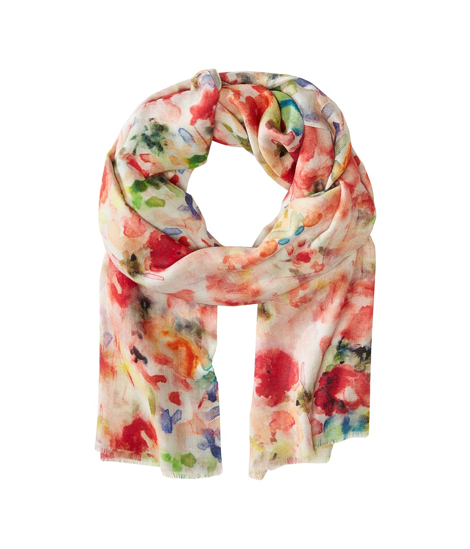 Bindya - Flower Gardens (Orange Multi) Scarves
