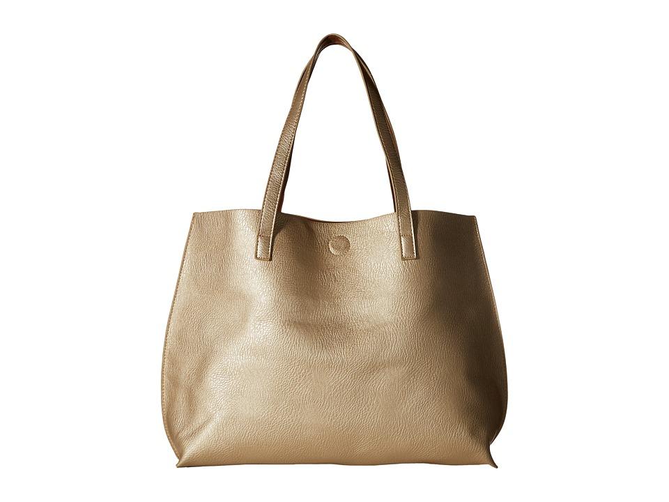 Gabriella Rocha - Bridget Reversible Tote (Champagne/Cognac) Tote Handbags