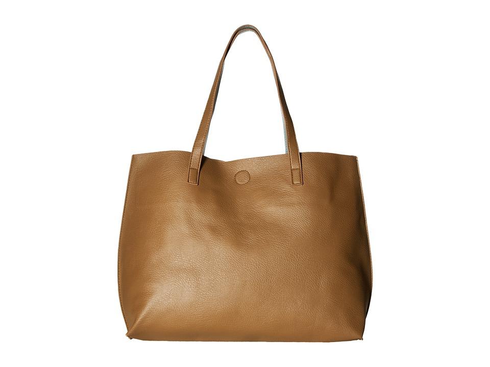Gabriella Rocha - Bridget Reversible Tote (Cognac/Blue) Tote Handbags