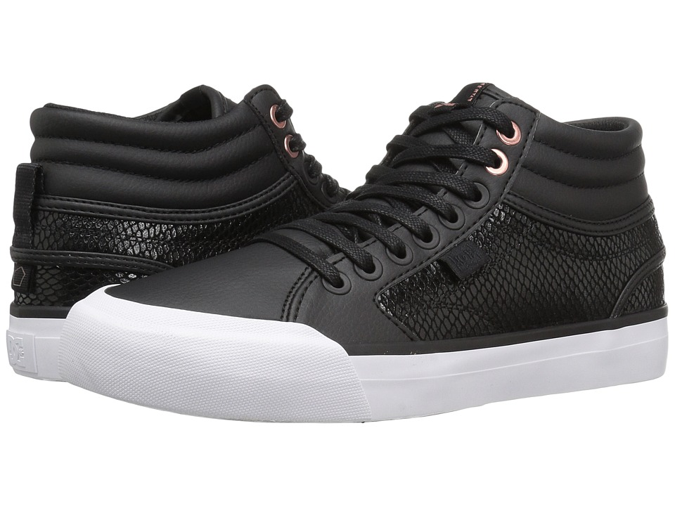 DC - Evan HI SE (Black/Black) Women's Shoes