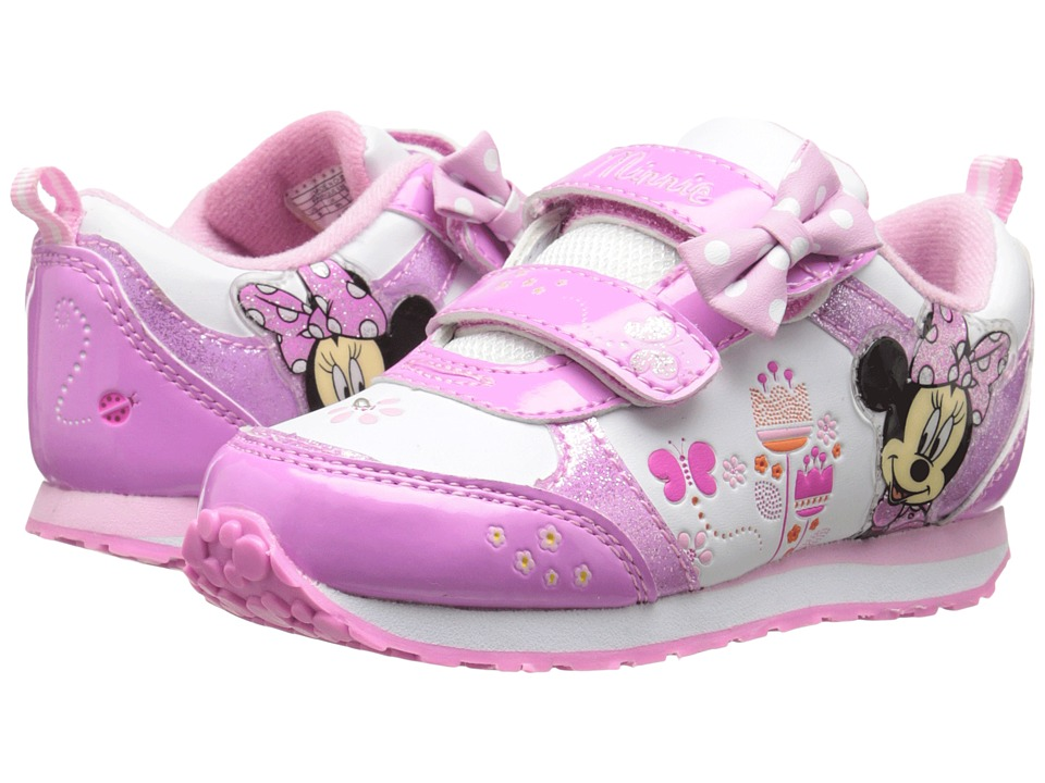 Josmo Kids - CH70392B (Toddle/Little Kid) (White/Pink) Girls Shoes
