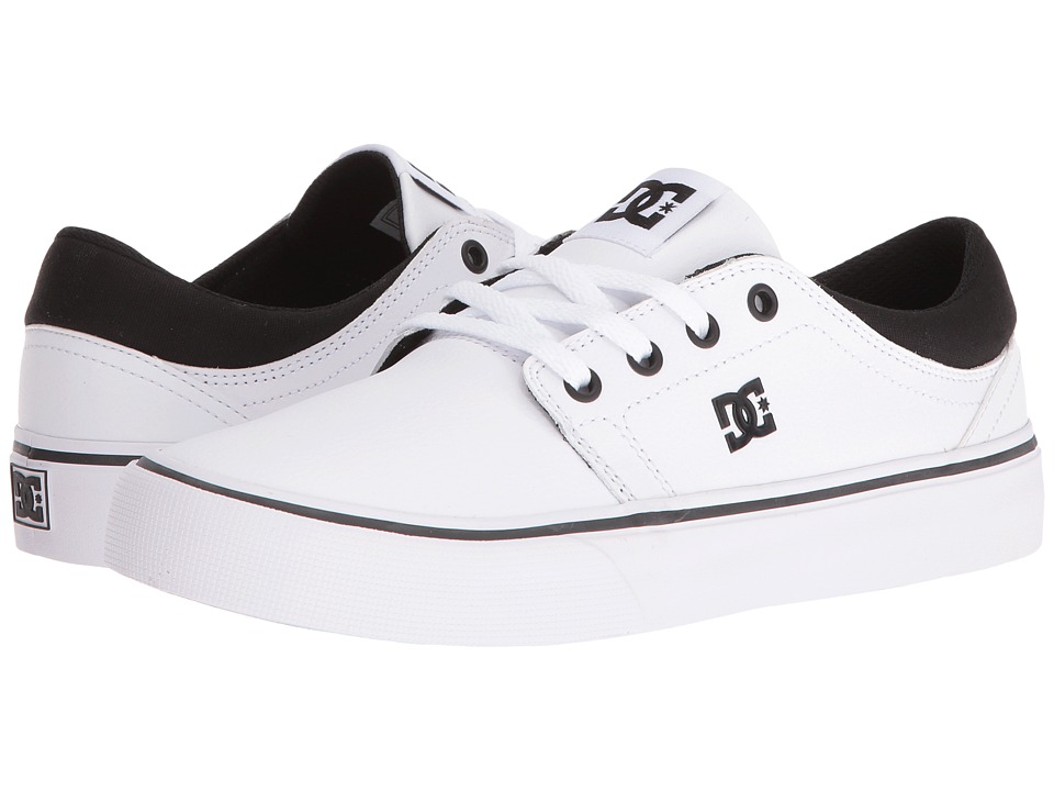 DC - Trase SE (Black/White) Women's Skate Shoes