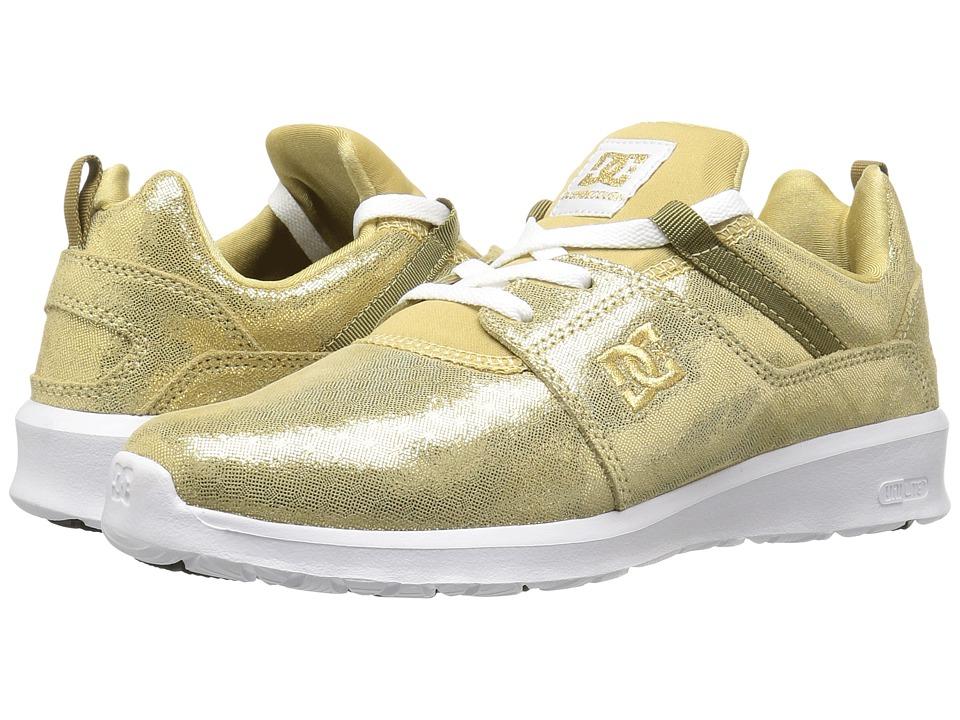 DC - Heathrow SE (Gold) Women's Skate Shoes