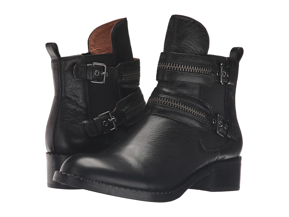 Gentle Souls Barberton (Black Leather) Women