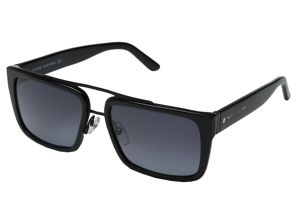 Marc Jacobs - Marc 57/S (Black/Gray Gradient) Fashion Sunglasses