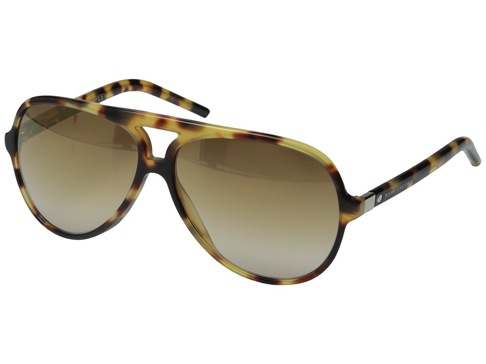 Marc Jacobs - Marc 70/S (Spotted Havana/Brown Gold) Fashion Sunglasses