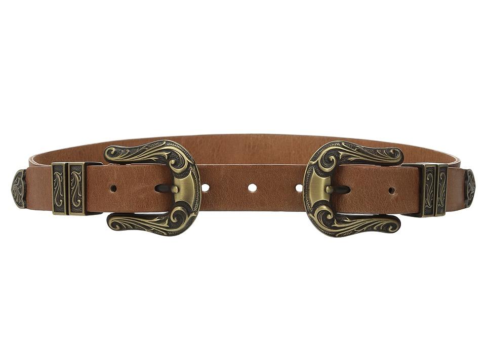 ADA Collection - Jule Belt (Cognac/Bronze) Women's Belts