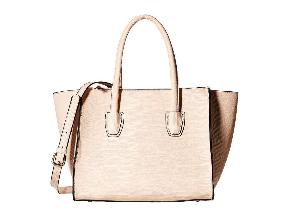 Gabriella Rocha - Karina Structured Satchel (Beige) Satchel Handbags