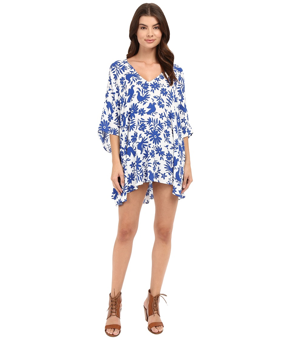 Show Me Your Mumu - Peta Tunic (Senorita Bluebird) Women's Clothing